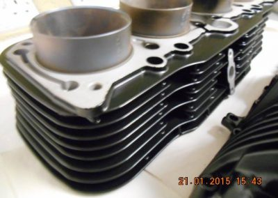 Engine-casings-finished-in-powder-coat-satin-black-2