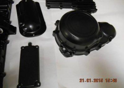 Engine-casings-finished-in-powder-coat-satin-black-8