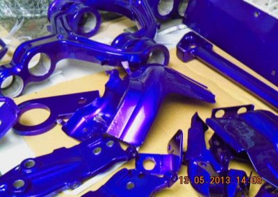 various-motorycle-powdercoated-frames-1