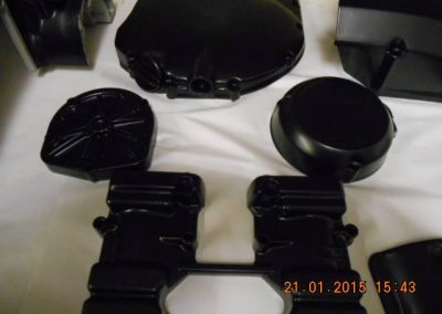 Engine-casings-finished-in-powder-coat-satin-black-7