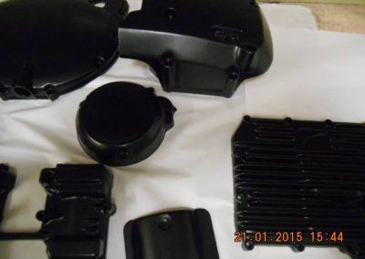 Engine-casings-finished-in-powder-coat-satin-black-9