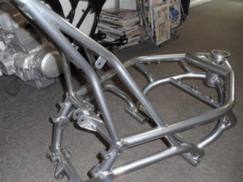 black_and_chrome_powder_coated_frame