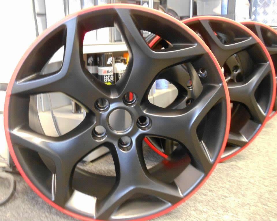 Alloy Wheels Powder Coated