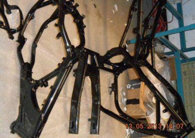 various-motorycle-powdercoated-frames-3