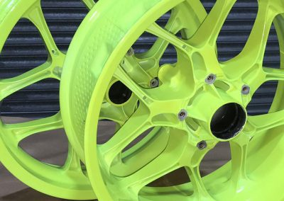 Our Powder Coated Wheels…