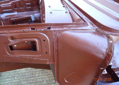 Austin-A60-van-blasted-2