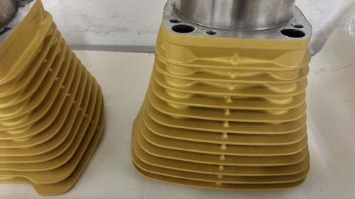 Barrells with gold ceramic-1