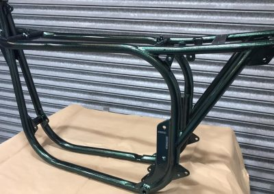 Motorcycle frame-2