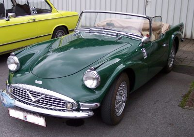 A Daimler Dart – with 2 coast Plascoat PPA571 applied