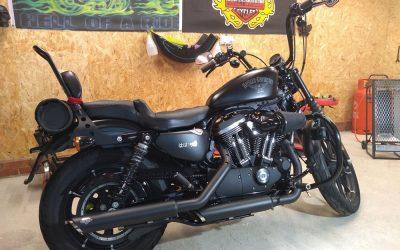 Harley Davidson Sportster heat shields