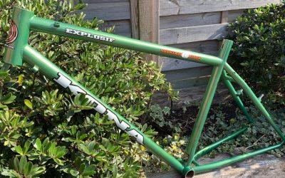 Powder Coated Bicycle Frame