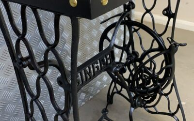 Restored Singer Sewing Machine Table…