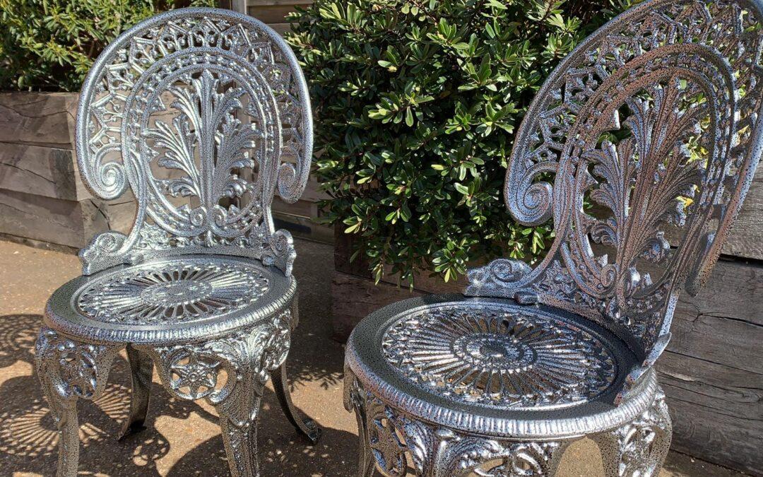 Restored Garden Chairs…